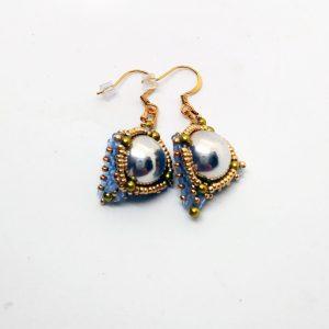 Doom eyes earrings